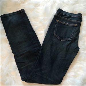Madewell Rail Straight Jeans 24 X 34